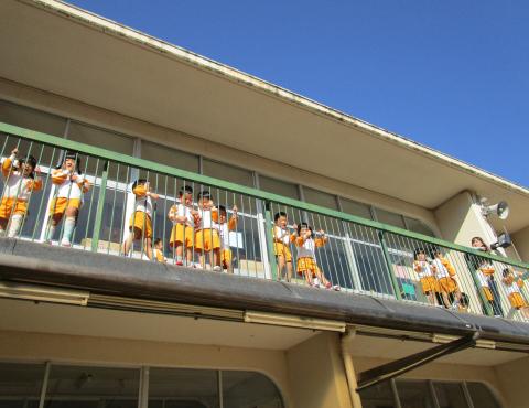 明石 保育園 二階