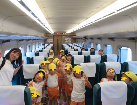 明石 保育園 新幹線2