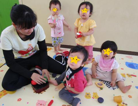 明石 保育園 0歳児1