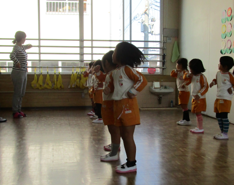 明石 保育園 練習2