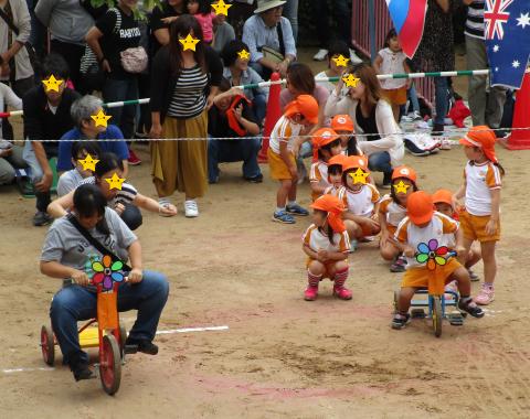 保育園 運動会 親子競技2