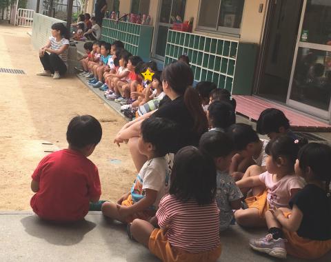 明石 保育園 練習4