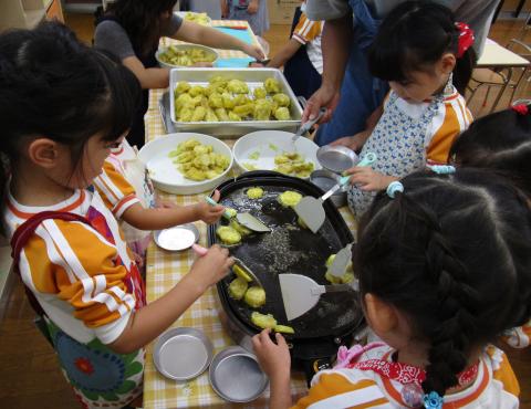 明石 保育園 料理