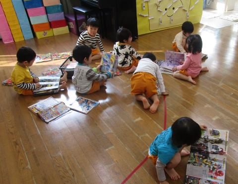 明石 保育園 2歳児1