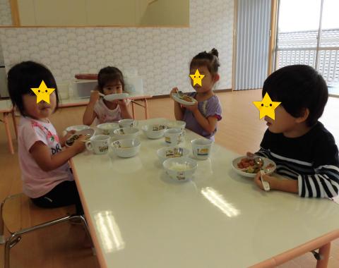 明石 保育園 給食3