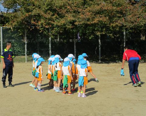 明石 保育園 サッカー教室2