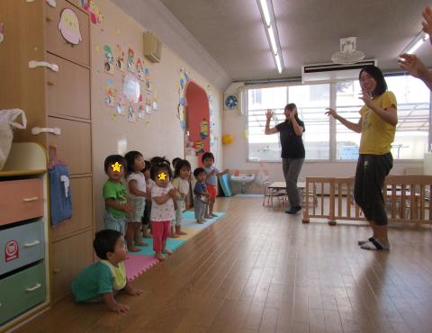 明石 保育園 盆踊り