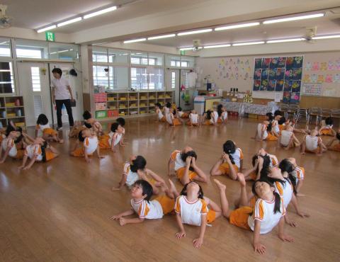 明石 保育園 体操教室2