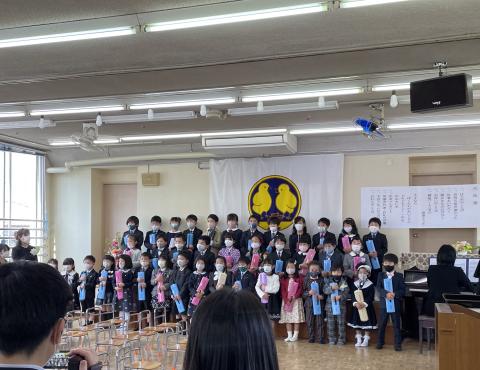 明石 保育園 卒園式4