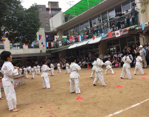 保育園 運動会 拳法2