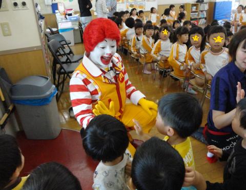 明石 マクドナルド 誕生日会