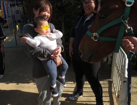 明石 保育園 馬1