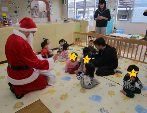 明石 保育園 クリスマス②
