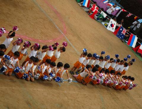 明石 運動会 4歳 (1)