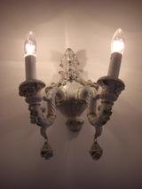 ベネチアン陶器の間接照明