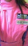 ピンクのスーツ3