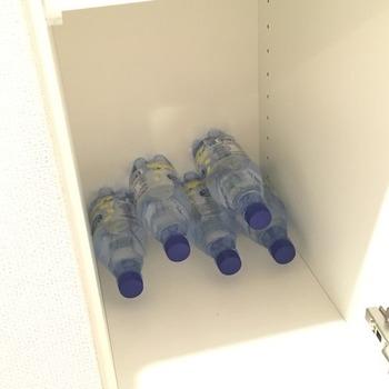炭酸水ペットボトルの収納1