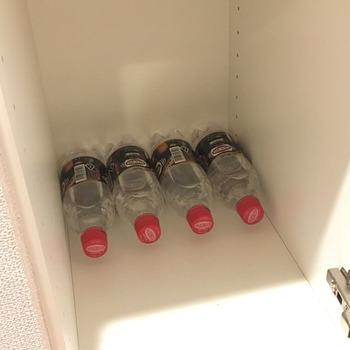 炭酸水ペットボトルの収納2
