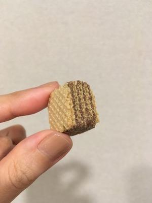 無印良品のひとくちウエハース・チョコクリーム3
