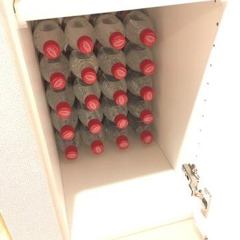 炭酸水ペットボトルの収納4