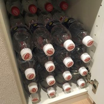 炭酸水ペットボトルの収納6