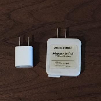 iPhoneのUSB充電アダプター4