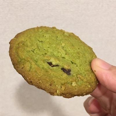 宇治抹茶とチョコのクッキー3