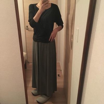 春の冷えとり部屋着ファッション2