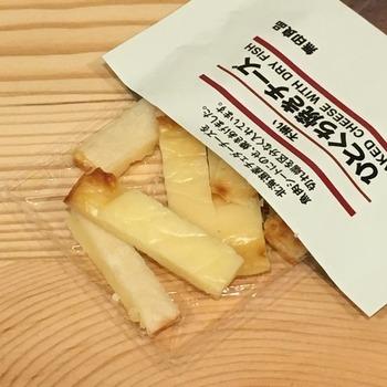 無印良品ひとくち焼きチーズ2
