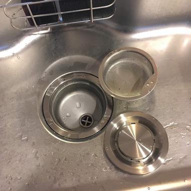 台所排水溝フタステンレス3