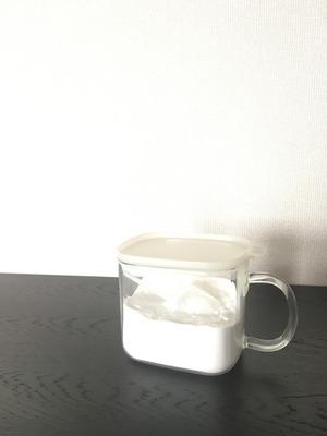 無印耐熱ガラス調味料保存容器1