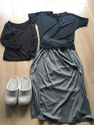 春の冷えとり部屋着ファッション1
