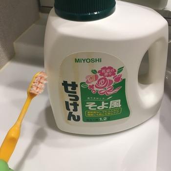 キャンバストートの洗い方5
