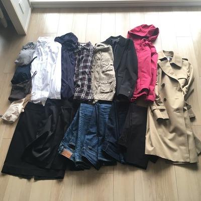 服の数、春