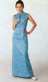 楊成貴氏の旗袍