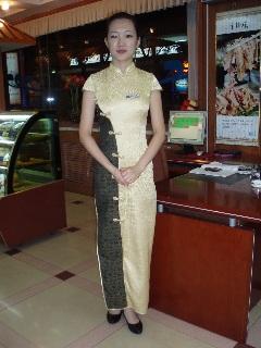 082レストランの女性
