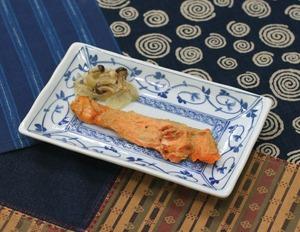 鮭の味噌焼180722
