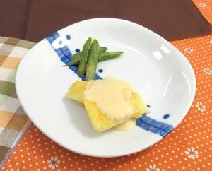 ピカタ味噌マヨかけ200516