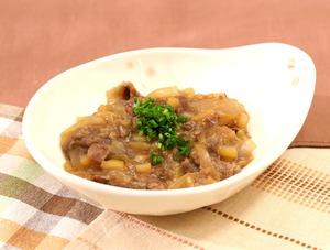 牛肉とじゃがいもの炒め煮170107