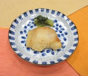カレイの味噌漬け焼210108