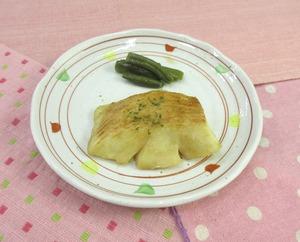 魚のムニエル バター醤油かけ210111