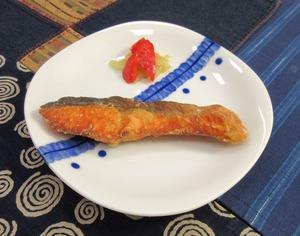 鮭の竜田揚げ030112B