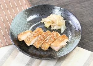 鶏肉のごま風味焼171230