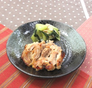 鶏肉の西京焼210116