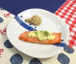 鮭のマヨネーズ焼き210105