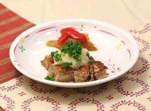 豚肉の和風ステーキ161204