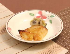 カレイの味噌漬け焼171216