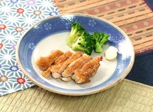 鶏肉のごま風味焼161125