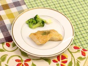魚のムニエルレモンバターソース