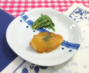 魚のムニエルレモンバターソース210417